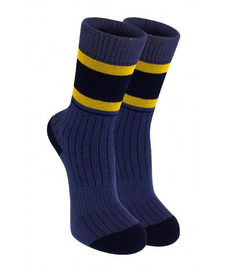 Шкарпетки сині в полоску