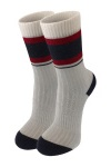 Шкарпетки сірі з полоскою photo 1