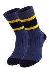 Синие теплые носки