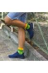 Зелено-желтые носки - реальное фото photo 4