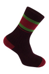Бордовый носок мужской photo 1