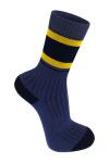 Синий носок с полоской photo 3