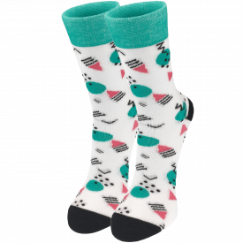 Women's socks greem