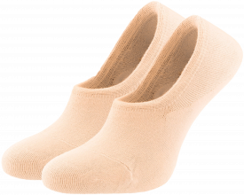 Women's no-show socks pink