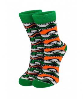 Разнопарные носки для девушек