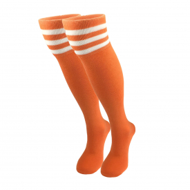 Women's half-hose orange