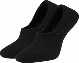 Women's no-show socks black