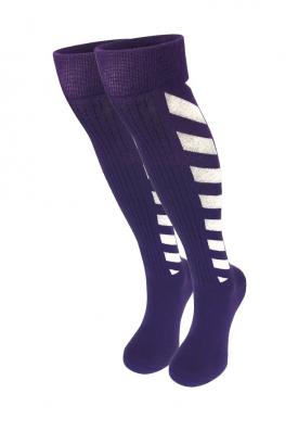 Фиолетовые гольфы женские