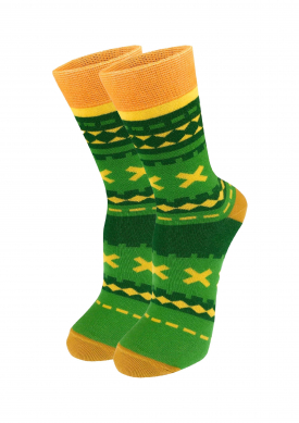 Women's socks green
